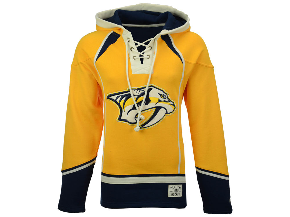 Nashville Predators Old Time Hockey NHL Men s Lacer Hoodie  aa8fc38fa