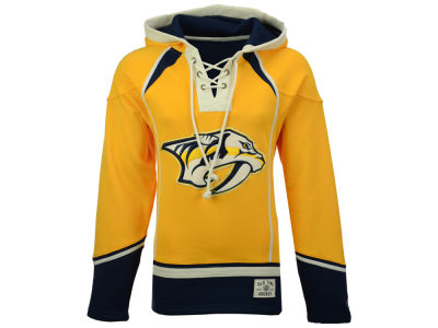 Nashville Predators Old Time Hockey NHL Men's Lacer Hoodie