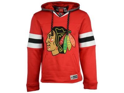 Chicago Blackhawks Reebok NHL Men's Jersey Pullover Hoodie