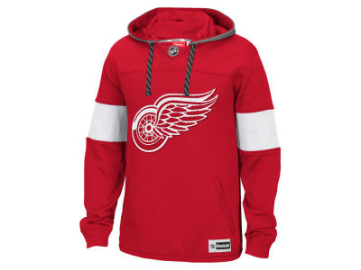 Detroit Red Wings Reebok NHL Men's Jersey Pullover Hoodie