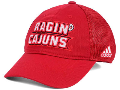 Louisiana Ragin' Cajuns adidas NCAA Coach Meshback Flex Cap