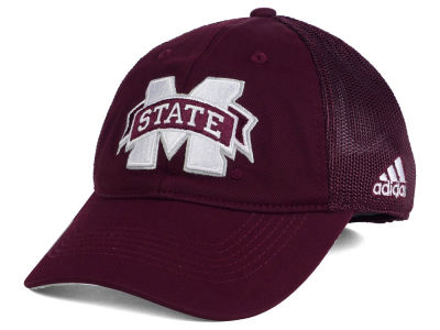 Mississippi State Bulldogs adidas NCAA Coach Meshback Flex Cap