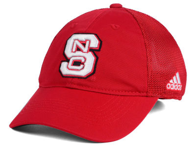 North Carolina State Wolfpack adidas NCAA Coach Meshback Flex Cap