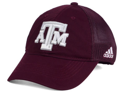 Texas A&M Aggies adidas NCAA Coach Meshback Flex Cap