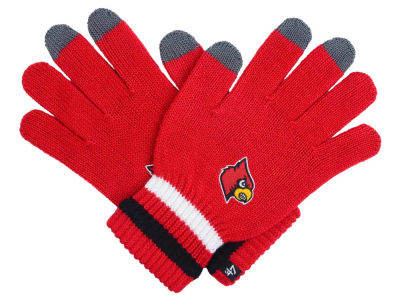 Louisville Cardinals Jumble Gloves