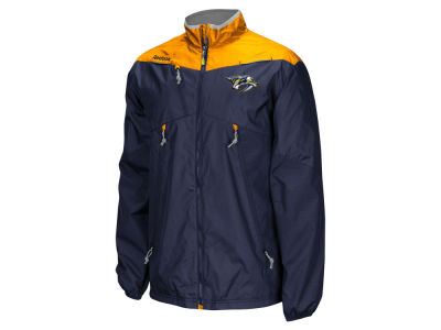 Nashville Predators Reebok NHL Men's Center Ice Rink Jacket