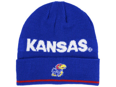 Kansas Jayhawks adidas 2016 NCAA Coach Cuffed Knit