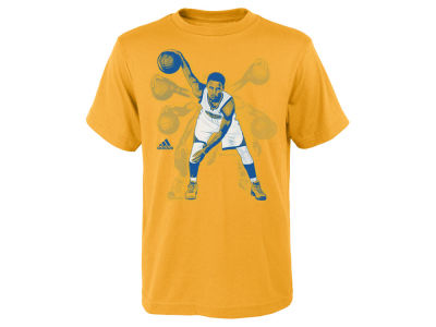 Golden State Warriors Stephen Curry adidas NBA Youth Curry Ghost T-Shirt