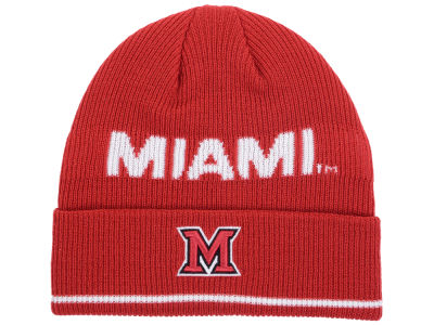 Miami (Ohio) Redhawks adidas 2016 NCAA Coach Cuffed Knit