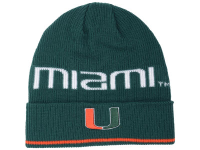 Miami Hurricanes adidas 2016 NCAA Coach Cuffed Knit