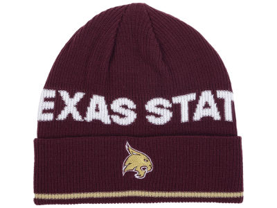 3ad9517a41d Texas State Bobcats adidas 2016 NCAA Coach Cuffed Knit