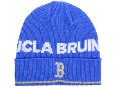 UCLA Bruins adidas 2016 NCAA Coach Cuffed Knit