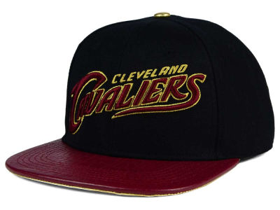 Cleveland Cavaliers Pro Standard NBA Pro Standard Team Leather Strapback Hat