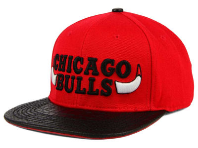 Chicago Bulls Pro Standard NBA Pro Standard Team Leather Strapback Hat