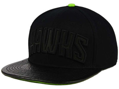Atlanta Hawks Pro Standard NBA Reflective Leather Strapback Cap