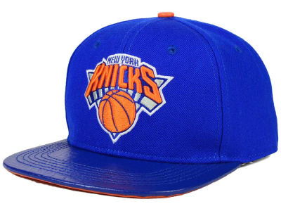 New York Knicks Pro Standard NBA Real Leather Strapback Hat