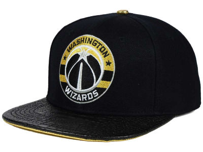 Washington Wizards Pro Standard NBA Real Leather Strapback Hat