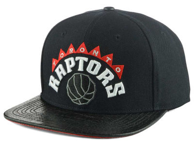 Toronto Raptors Pro Standard NBA Real Leather Strapback Hat