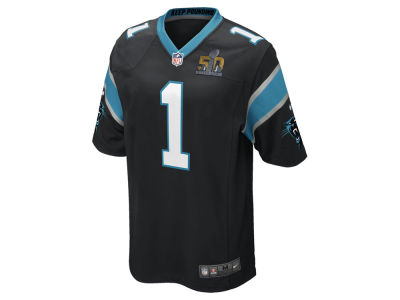 Carolina Panthers Outerstuff NFL Youth Super Bowl 50 Patch Jersey