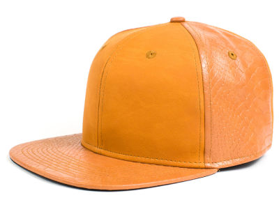 LIDS Private Label Leather X Snapback Hat