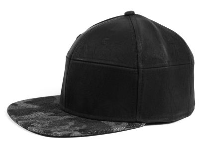 LIDS Private Label Split 6 Panel Snapback Hat
