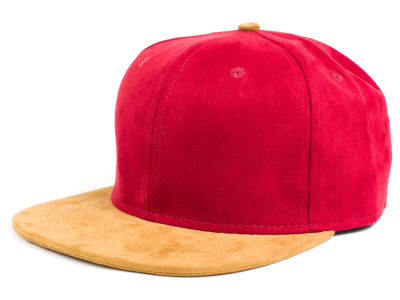 LIDS Private Label Suede X Strapback Hat