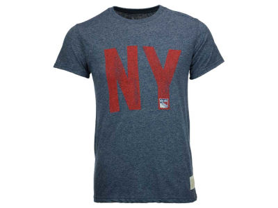 New York Rangers Retro Brand NHL Men's Mock Twist III T-Shirt