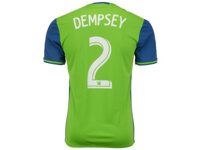 Seattle Sounders FC Clint Dempsey adidas MLS Men's Primary Replica Player Jersey