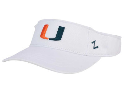 Miami Hurricanes Zephyr Strongside Visor