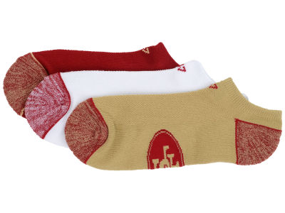 San Francisco 49ers '47 3-pack Blade Motion No Show Socks