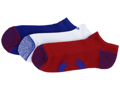 Chicago Cubs '47 3-pack Blade Motion No Show Socks