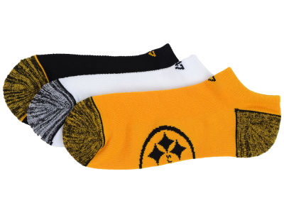 Pittsburgh Steelers '47 3-pack Blade Motion No Show Socks