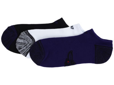 Baltimore Ravens '47 3-pack Blade Motion No Show Socks