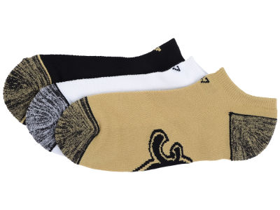 New Orleans Saints '47 3-pack Blade Motion No Show Socks