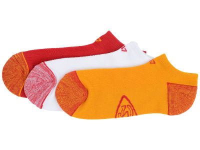 Kansas City Chiefs '47 3-pack Blade Motion No Show Socks