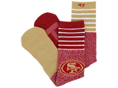 San Francisco 49ers '47 Vernon Crew Socks