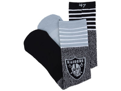 Oakland Raiders '47 Vernon Crew Socks
