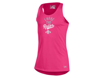 Iowa State Cyclones Under Armour NCAA Youth Girls Rules Tech Tank