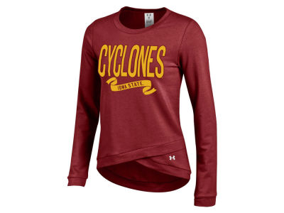 Iowa State Cyclones Under Armour NCAA Women's Crossover Crew Fleece