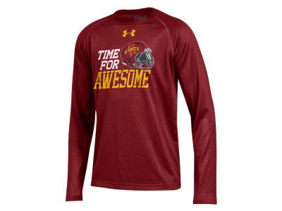 Iowa State Cyclones Under Armour NCAA Youth Respect Tech Long Sleeve T-Shirt
