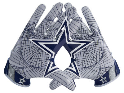 Dallas Cowboys Nike Vapor Jet 4.0 Gloves