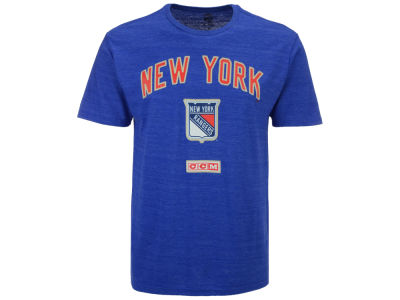 New York Rangers Reebok NHL Men's Stitches Needed T-Shirt