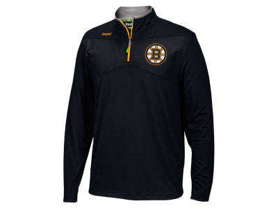 Boston Bruins Reebok NHL Men's Center Ice 1/4 Zip Pullover