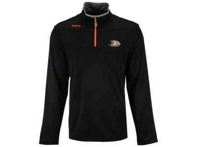 Anaheim Ducks Reebok NHL Men's Center Ice 1/4 Zip Pullover