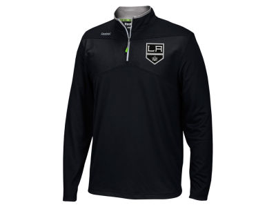 Los Angeles Kings Reebok NHL Men's Center Ice 1/4 Zip Pullover