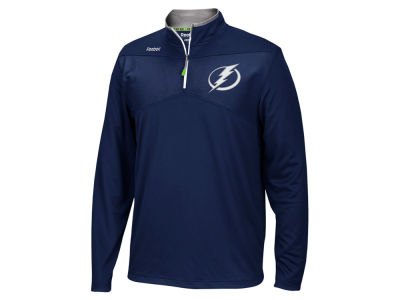 Tampa Bay Lightning Reebok NHL Men's Center Ice 1/4 Zip Pullover