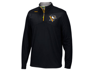 Pittsburgh Penguins Reebok NHL Men's Center Ice 1/4 Zip Pullover