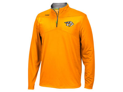 Nashville Predators Reebok NHL Men's Center Ice 1/4 Zip Pullover