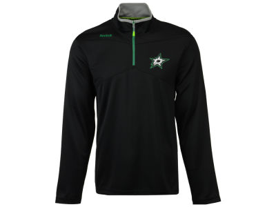 Dallas Stars Reebok NHL Men's Center Ice 1/4 Zip Pullover