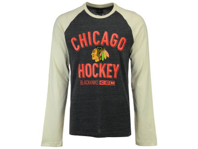 Chicago Blackhawks Reebok NHL Men's CCM Long Sleeve Crew T-Shirt